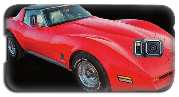 1977 Chevy Corvette T Tops Digital Oil Galaxy S5 Case