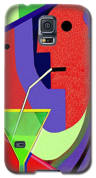 Galaxy S5 Case featuring the digital art 1979 - Party Pop 2017 by Irmgard Schoendorf Welch