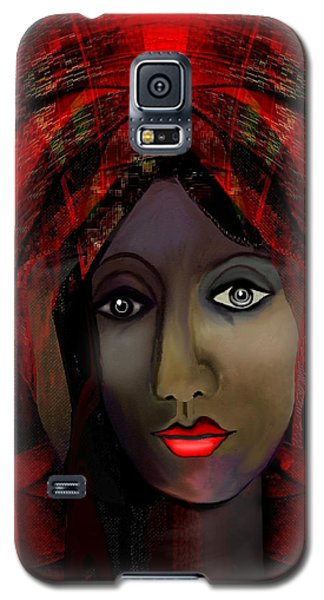 Galaxy S5 Case featuring the digital art 1980 -  Leading Into Temptation 2017 by Irmgard Schoendorf Welch