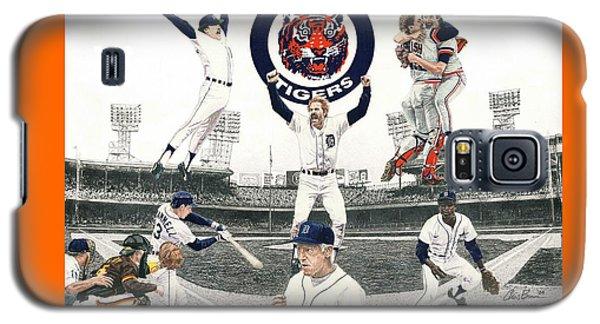 Sport Art Galaxy S5 Case - 1984 Detroit Tigers by Chris Brown