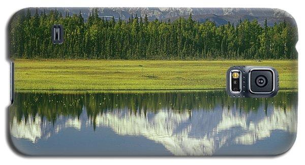1m1325 Mt. Hunter And Mt. Denali Galaxy S5 Case