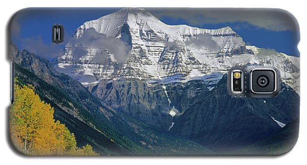 1m2441-h Mt. Robson And Yellowhead Highway H Galaxy S5 Case