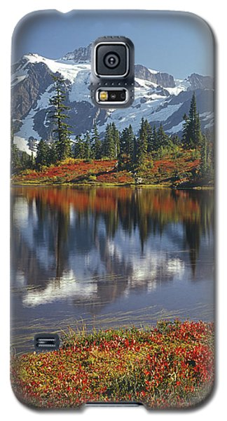 1m4208 Mt. Shuksan And Picture Lake Galaxy S5 Case