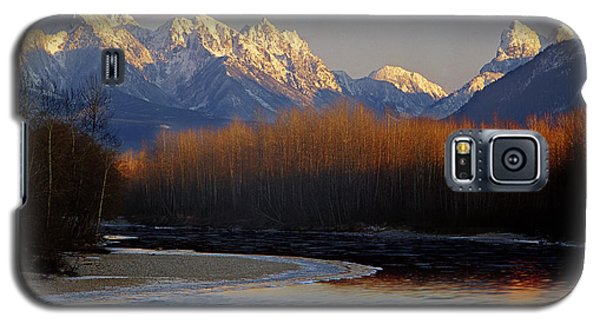 1m4525 Skykomish River And West Central Cascade Mountains Galaxy S5 Case
