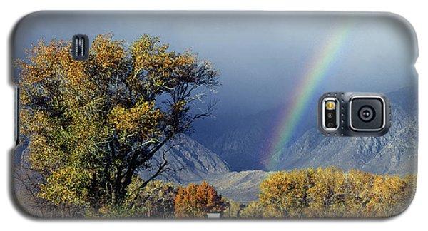 1m6345 Rainbow In Sierras Galaxy S5 Case