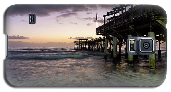 1st Dawn Cocoa Pier Galaxy S5 Case by Jennifer White