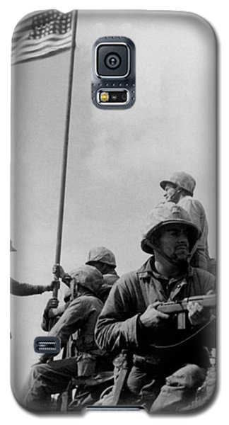 1st Flag Raising On Iwo Jima  Galaxy S5 Case
