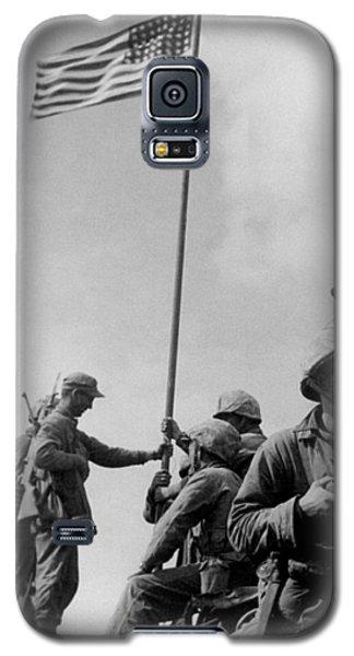 1st Flag Raising On Iwo Jima  Galaxy S5 Case