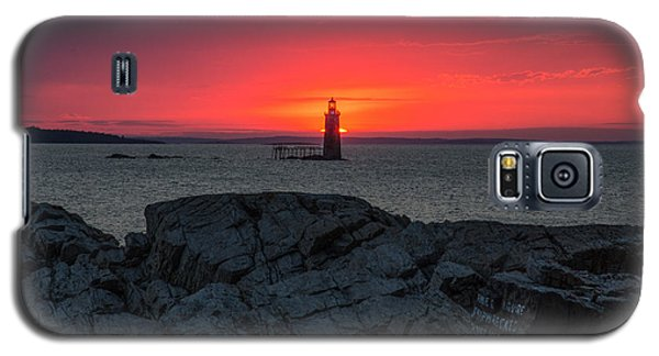 1st Light Galaxy S5 Case by Paul Noble