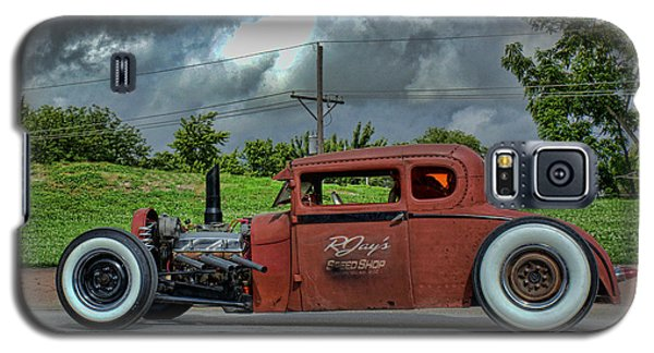 Galaxy S5 Case featuring the photograph 1929 Ford Hot Rod by Tim McCullough