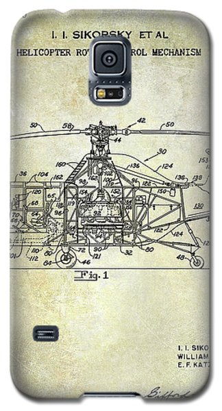 1950 Helicopter Patent Galaxy S5 Case