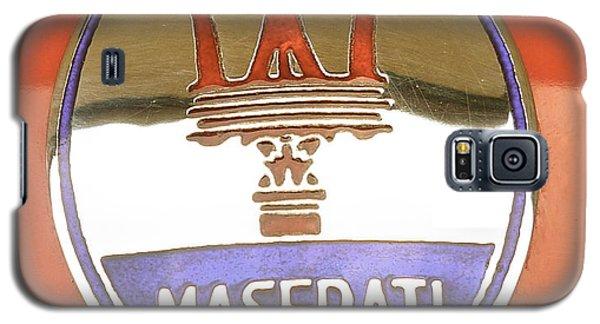 1957 Fangio Maserati 250f Hood Badge Galaxy S5 Case