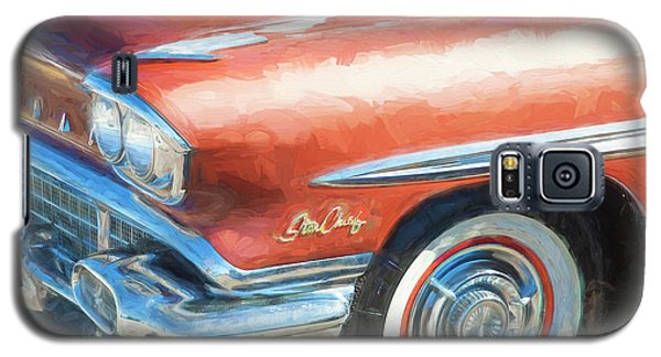 Galaxy S5 Case featuring the photograph 1958 Pontiac Star Chief  by Rich Franco