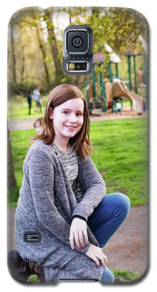 9 Galaxy S5 Case by Rebecca Cozart