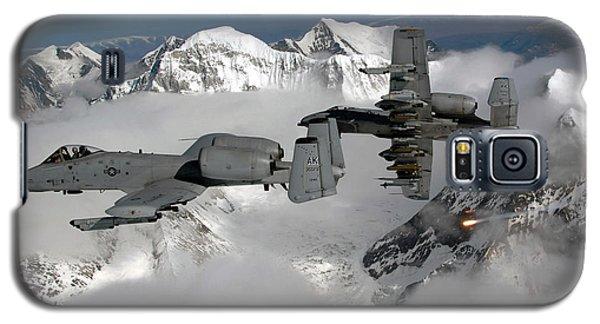 A-10 Thunderbolt IIs Fly Galaxy S5 Case