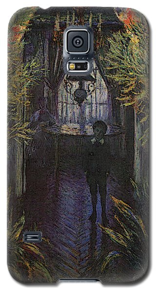 A Corner Of The Apartment Galaxy S5 Case by Claude Monet