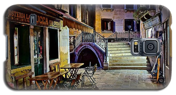 An Evening In Venice Galaxy S5 Case by Frozen in Time Fine Art Photography
