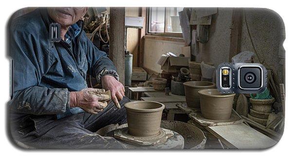 A Village Pottery Studio, Japan Galaxy S5 Case