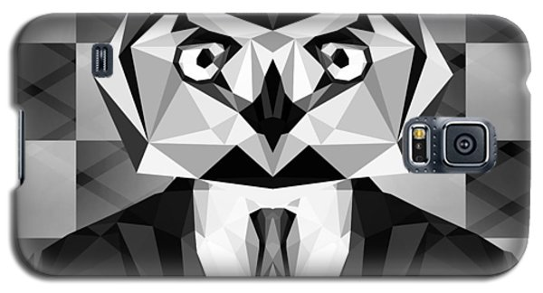Abstract Owl Galaxy S5 Case