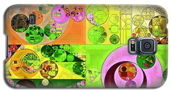 Abstract Painting - Turtle Green Galaxy S5 Case by Vitaliy Gladkiy