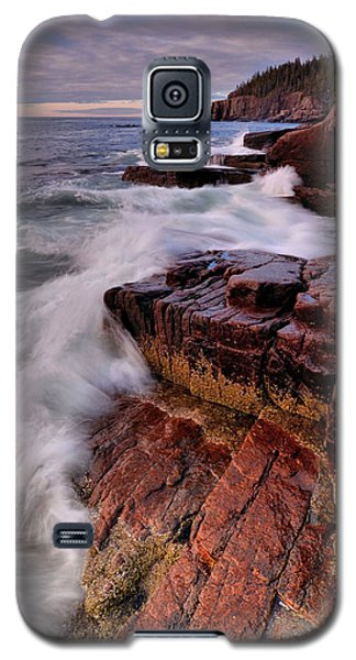 Galaxy S5 Case featuring the photograph Along The Acadia Coast by Stephen  Vecchiotti
