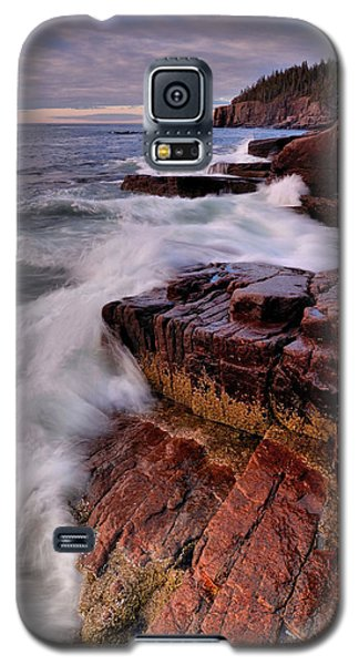 Along The Acadia Coast Galaxy S5 Case by Stephen  Vecchiotti