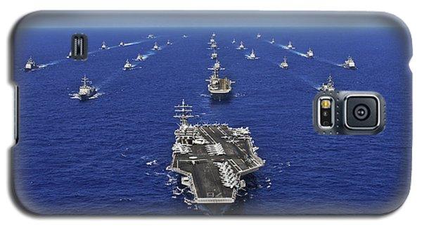 Aircraft Carrier Uss Ronald Reagan Galaxy S5 Case