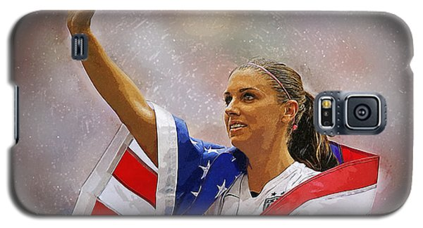 Alex Morgan Galaxy S5 Case by Semih Yurdabak