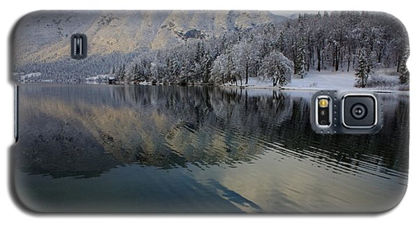 Alpine Winter Reflections Galaxy S5 Case by Ian Middleton