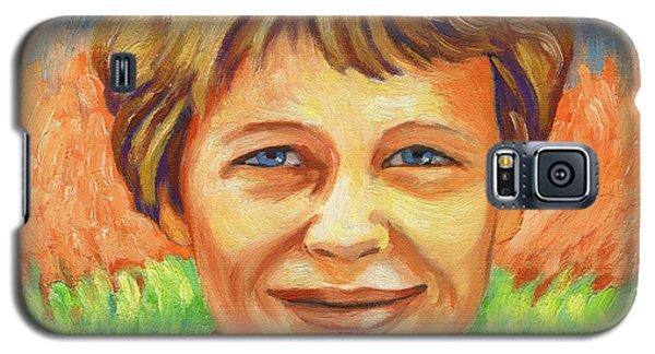 Amelia Earhart Portrait Galaxy S5 Case