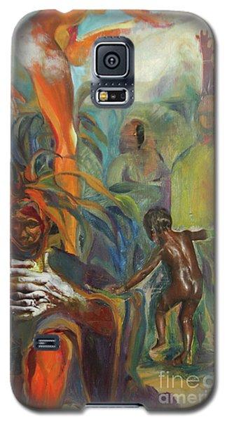 Ancestor Dance Galaxy S5 Case by Daun Soden-Greene