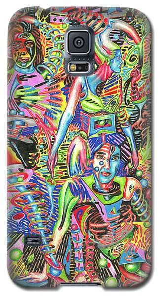 Animated Perspective Of Nocturnal Wandering Galaxy S5 Case