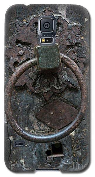 Galaxy S5 Case featuring the photograph Antique Door Knocker by Elena Elisseeva