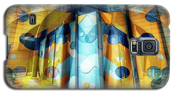 Architectural Abstract Galaxy S5 Case by Wayne Sherriff