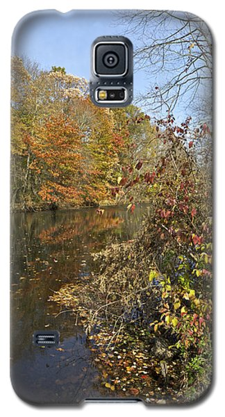 Autumn Colors On The Canal Galaxy S5 Case