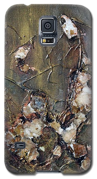 Galaxy S5 Case featuring the painting Autumn Leaves by Joanne Smoley