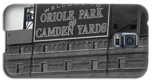 Baltimore Orioles Park At Camden Yards Bw Galaxy S5 Case
