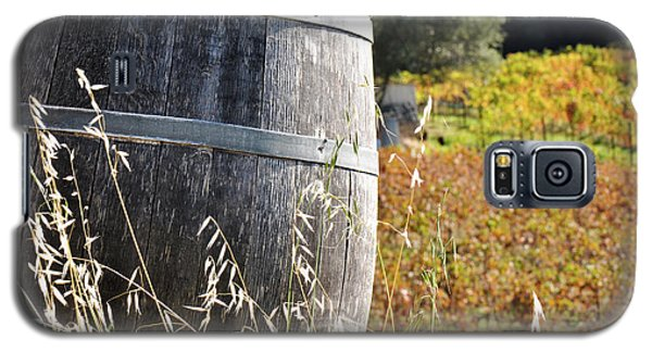 Barrel In The Vineyard Galaxy S5 Case