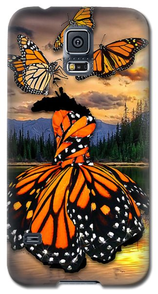 Galaxy S5 Case featuring the mixed media Believe by Marvin Blaine