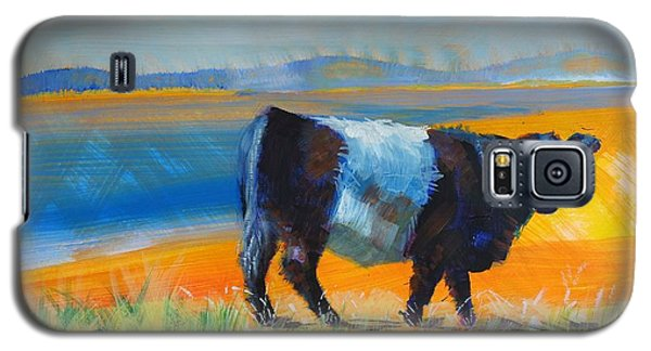 Belted Galloway Cow Galaxy S5 Case