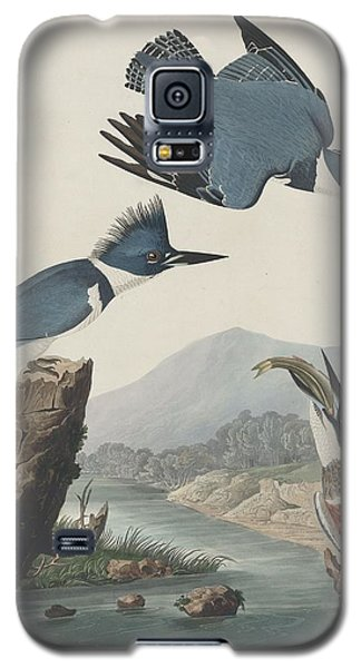 Belted Kingfisher Galaxy S5 Case by Dreyer Wildlife Print Collections