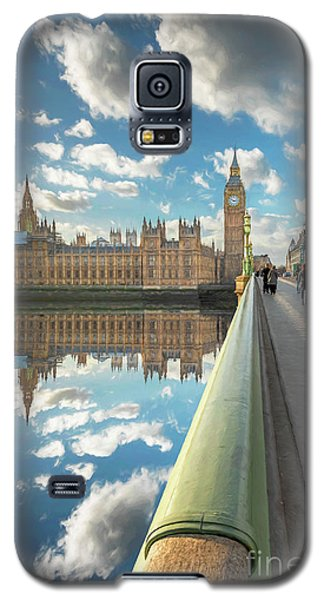 Galaxy S5 Case featuring the photograph Big Ben London by Adrian Evans