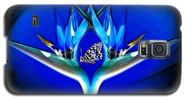 Blue Bird Of Paradise Galaxy S5 Case