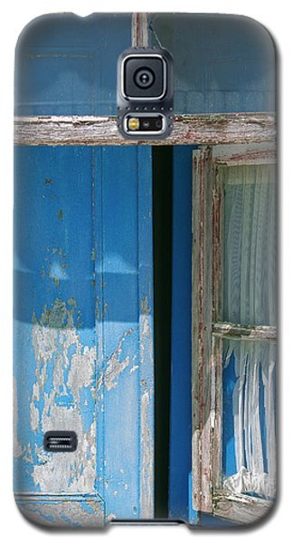 Blue Window Galaxy S5 Case