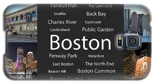 Boston Ma Collage Galaxy S5 Case
