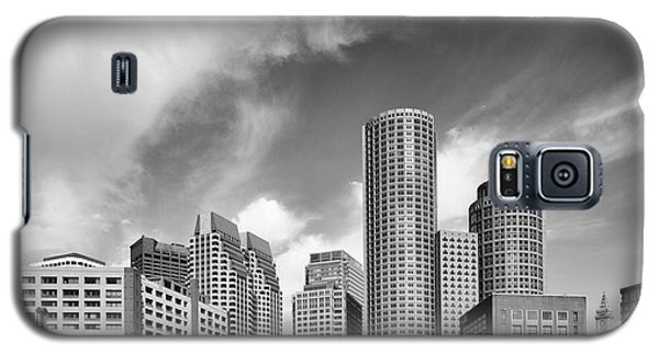 Boston Skyline 1980s Galaxy S5 Case by L O C