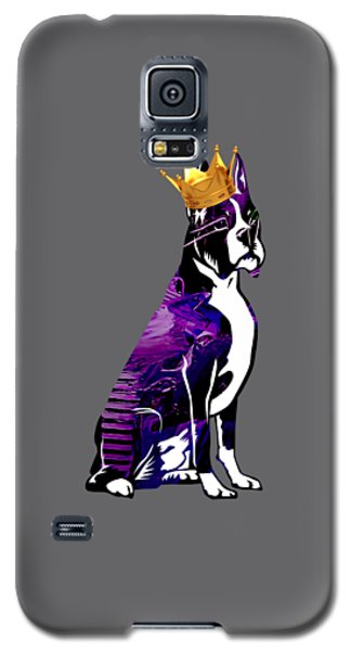 Boxer With Crown Collection Galaxy S5 Case by Marvin Blaine
