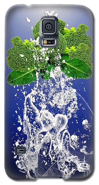 Broccoli Splash Galaxy S5 Case by Marvin Blaine
