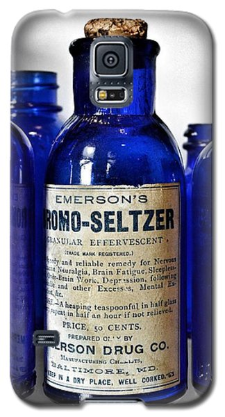 Bromo Seltzer Vintage Glass Bottles Collection Galaxy S5 Case