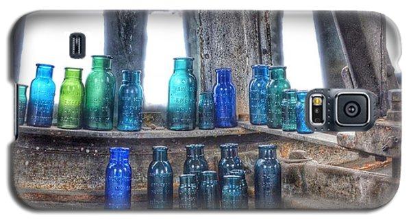 Bromo Seltzer Vintage Glass Bottles  Galaxy S5 Case